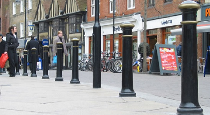 Street Furniture (3) Bollards | The Greenwich Phantom