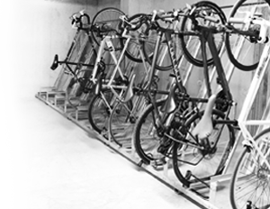 Space Saving Cycle Parking