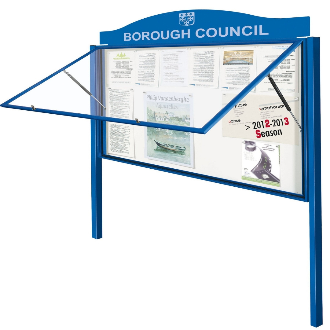 """Classic"" Notice Board - Anodised"