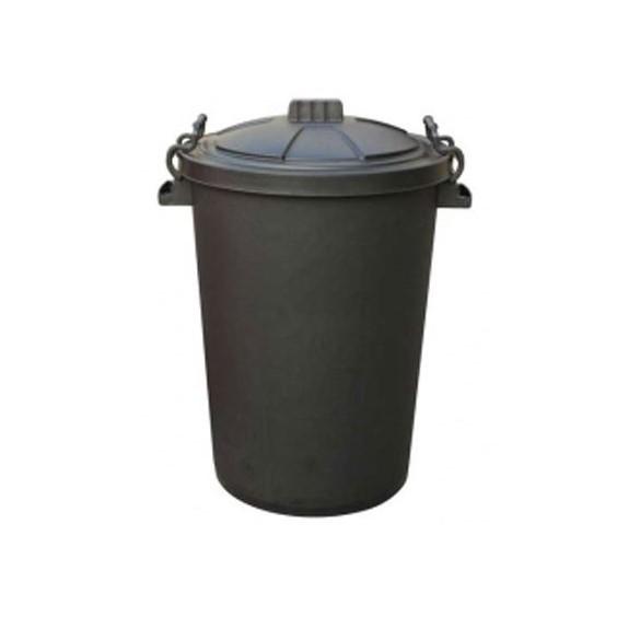 Clip Bin 85 Litre - Black