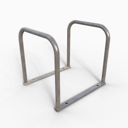 4 Hoop 8 Cycle Sheffield Toast rack Cycle Stand