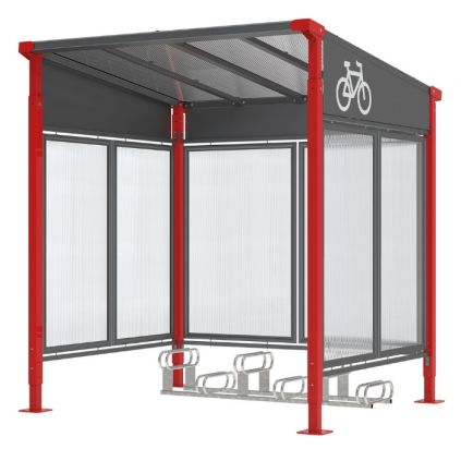 Milan Bicycle Shelter