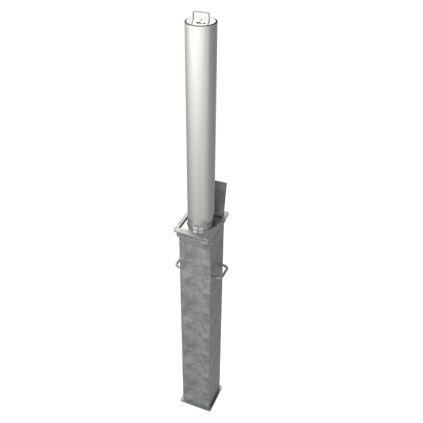 90mm Diameter Stainless Steel Telescopic Bollard
