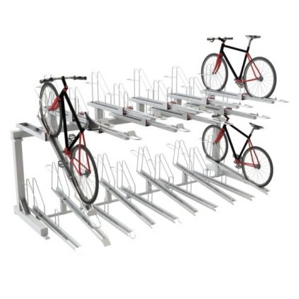 Everest Double Decker Cycle Rack