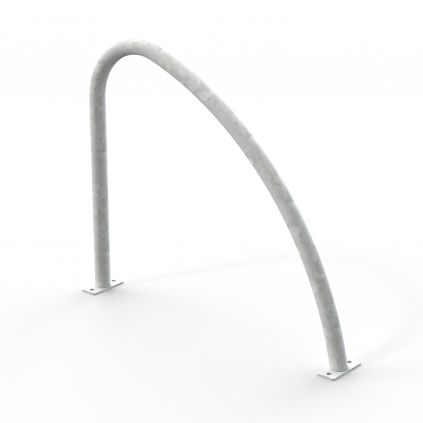 Fin Shaped Cycle Stand Galvanised – Surface Mounted