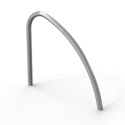 Fin Shaped Cycle Stand Stainless Steel - Root Fixed