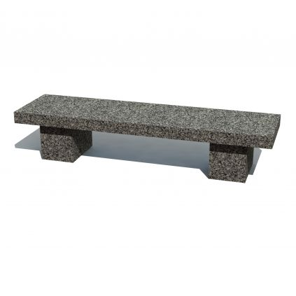 New York Granite Bench