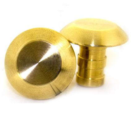 Plain Brass Paving Stud