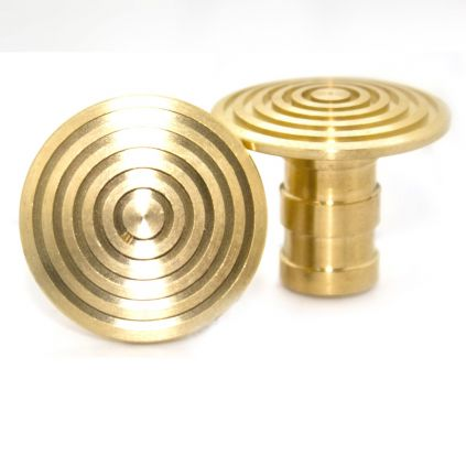 Record Brass Paving Stud