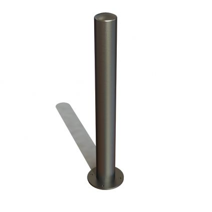 101mm Stainless Steel Bollard Surface Mounted