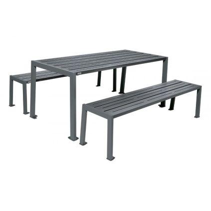 Silaos Steel Picnic Table