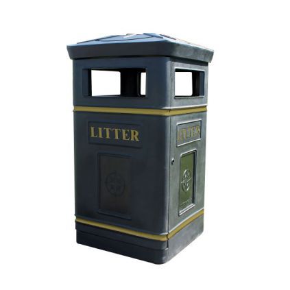 The Compass Litter Bin
