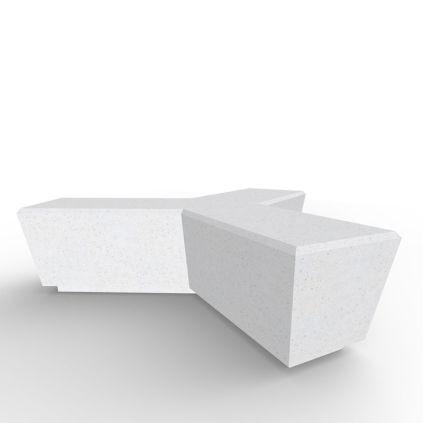 Tri Concrete Bench