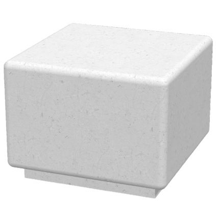 Bamburgh Concrete Cube Seat