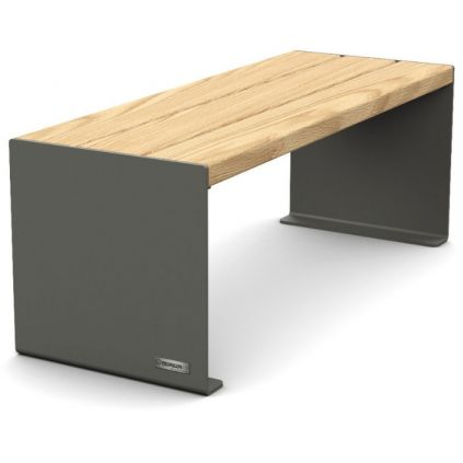 Primium® Design Bench - Timber & Steel