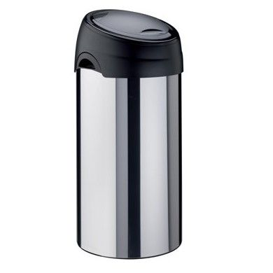 60 Litre Soft Touch Bin Stainless Steel