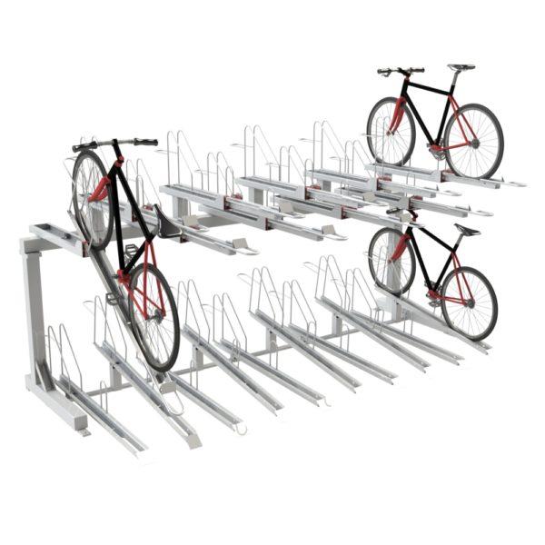 Everest Double Decker Cycle Rack
