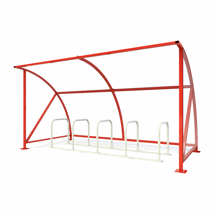 10 Bike Hennessy Cycle Shelter
