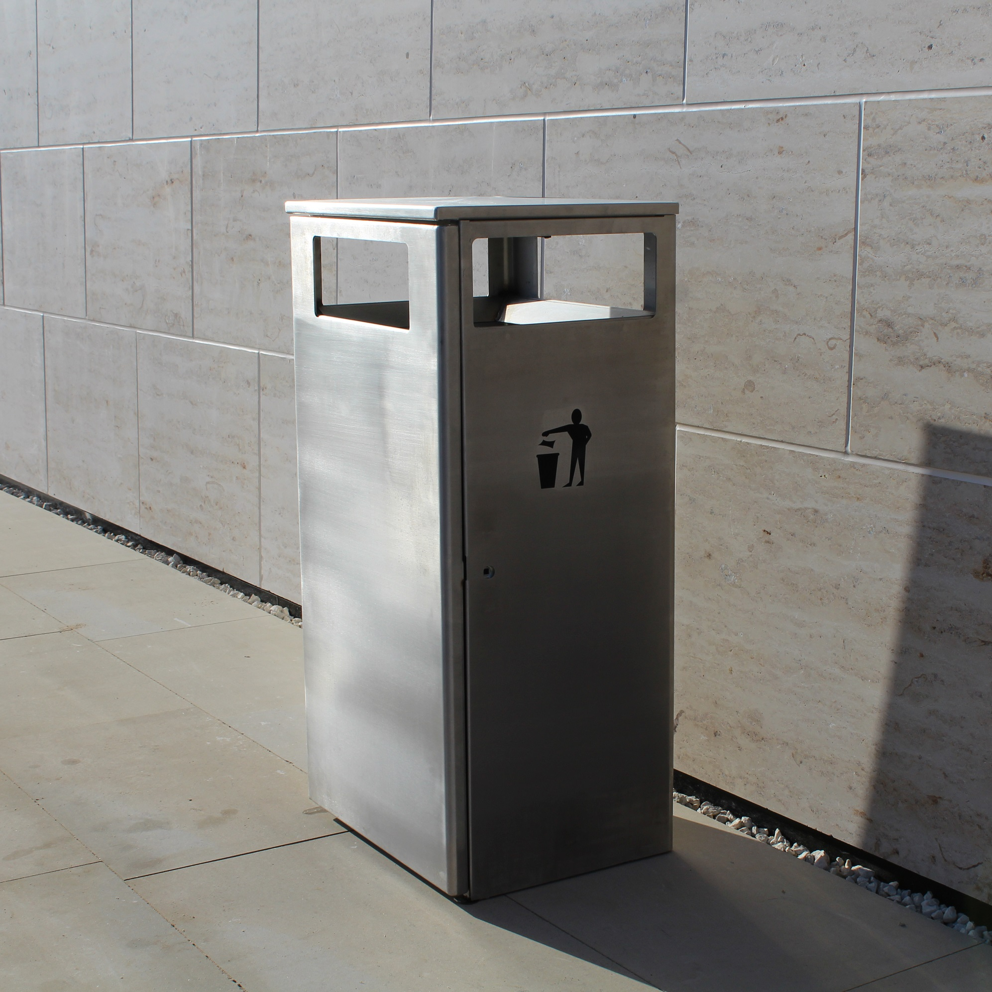 Ares Stainless Steel Litter Bin