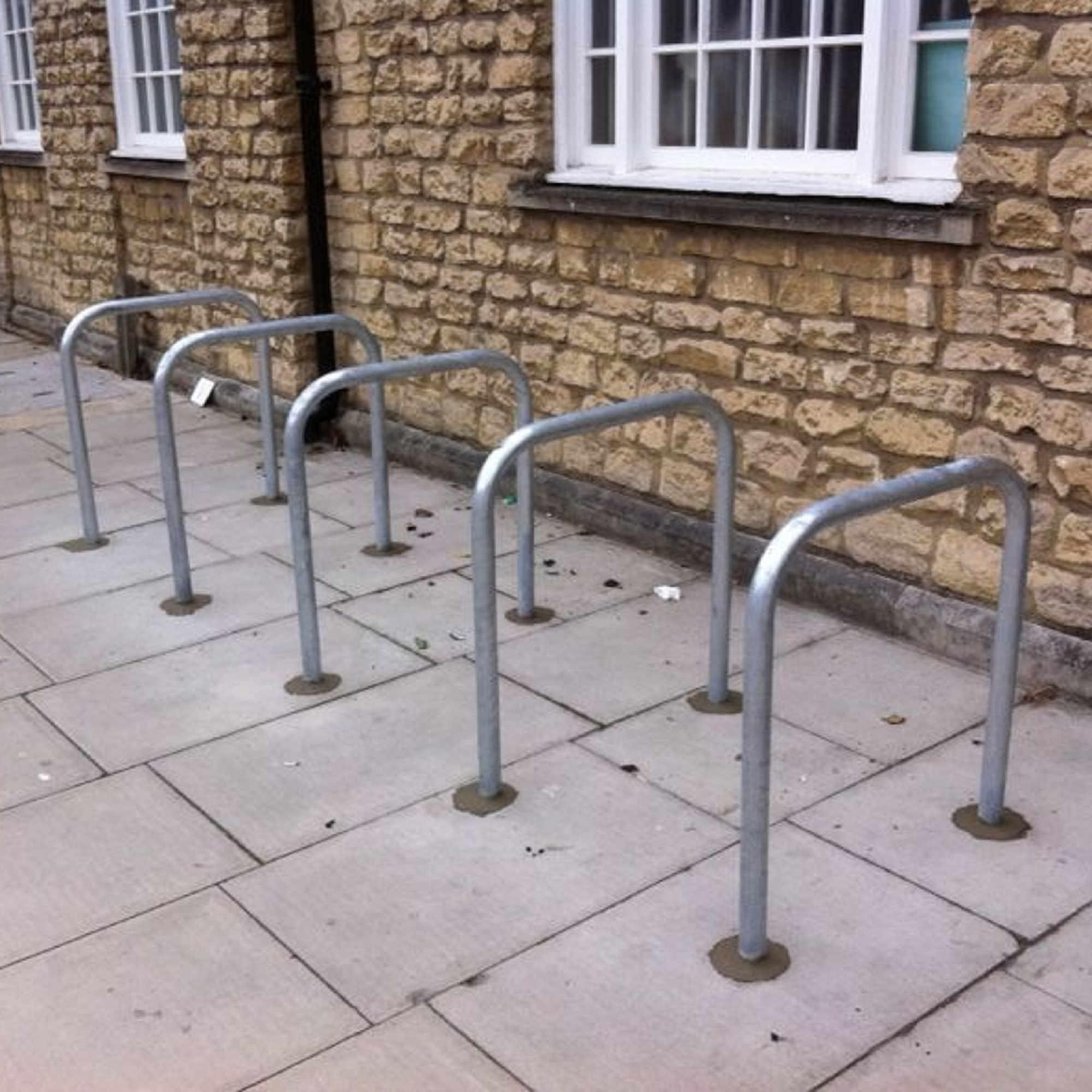 Sheffield Cycle Stand Galvanised - Root Fixed