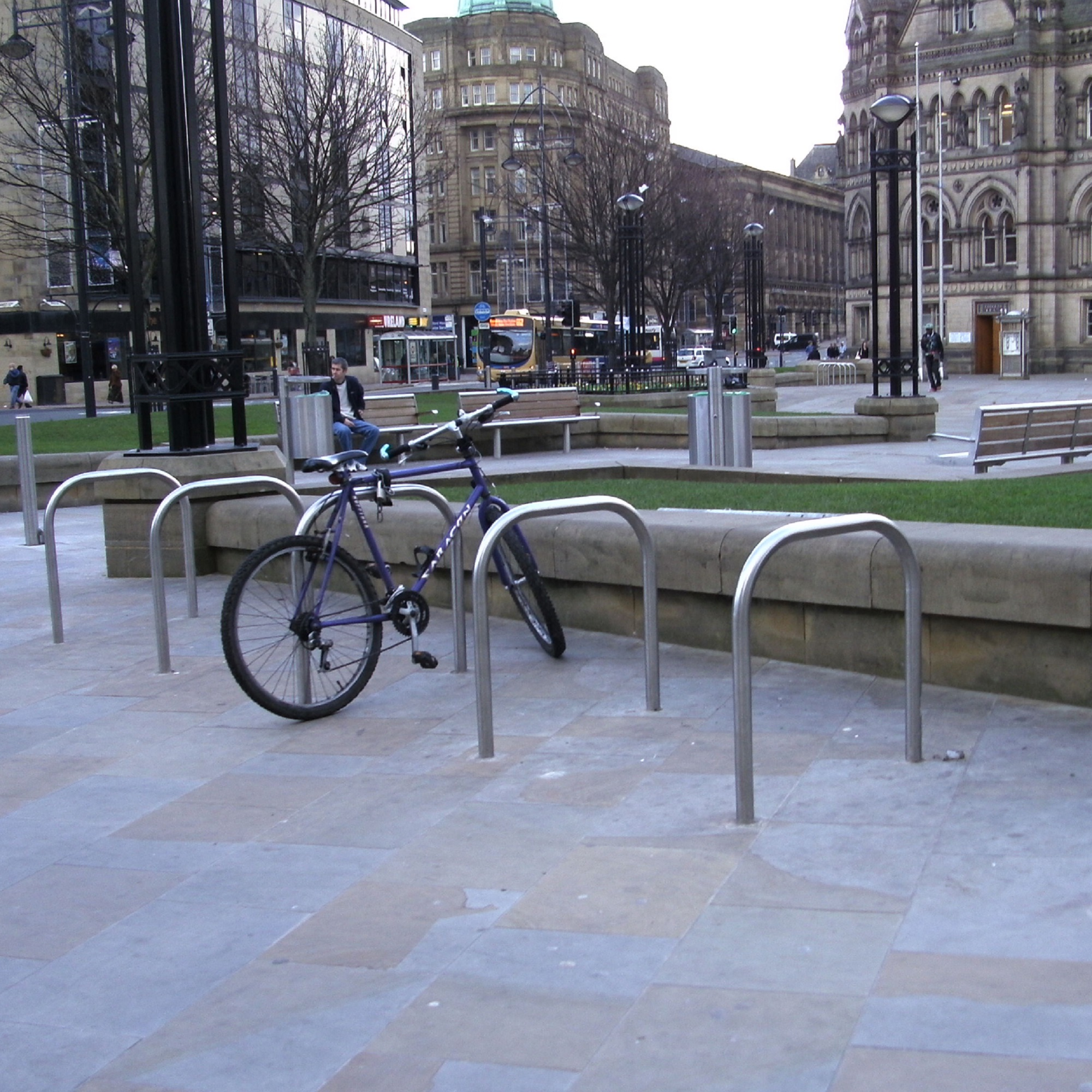 Sheffield Cycle Stand Stainless Steel – Root Fixed