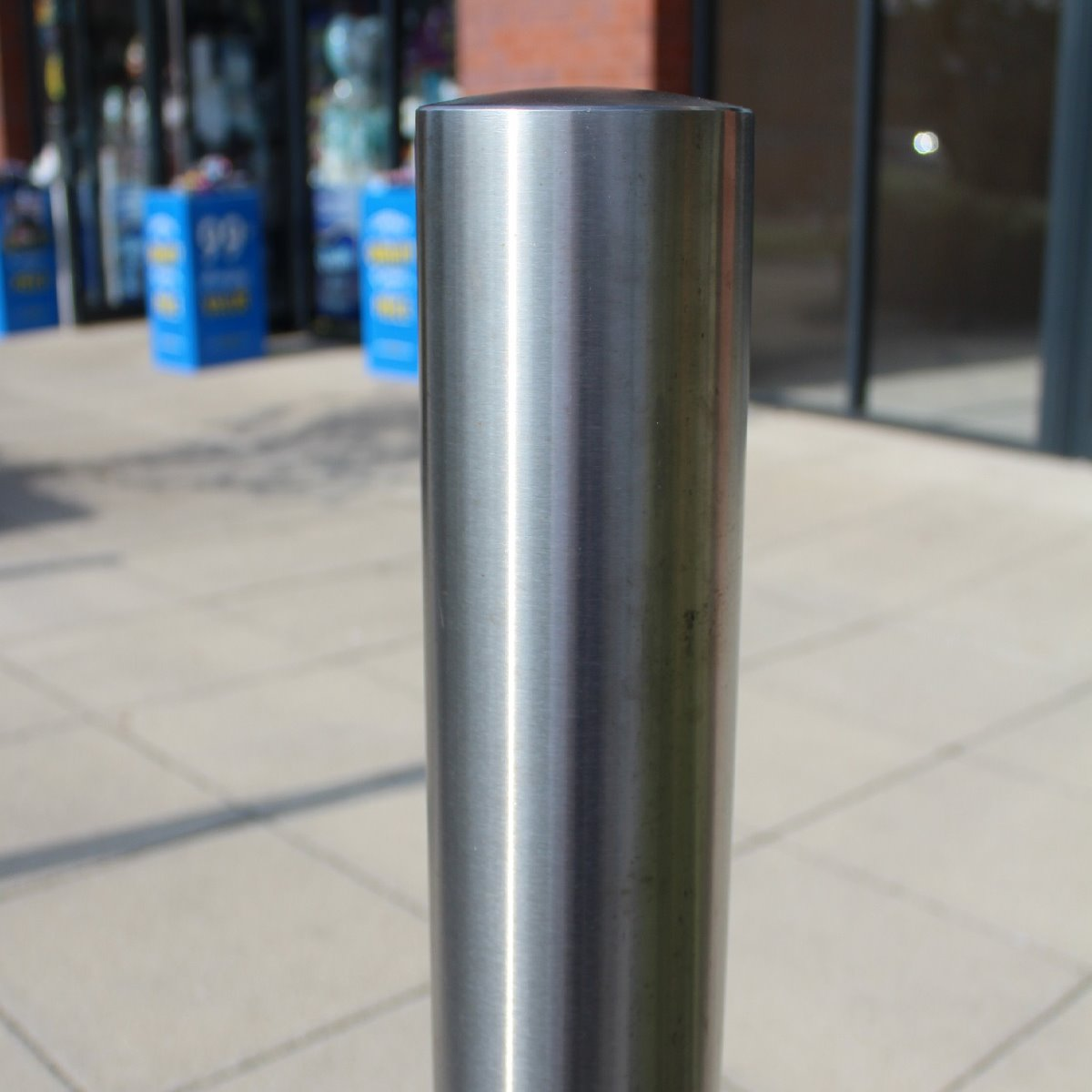 101mm Stainless Steel Bollard
