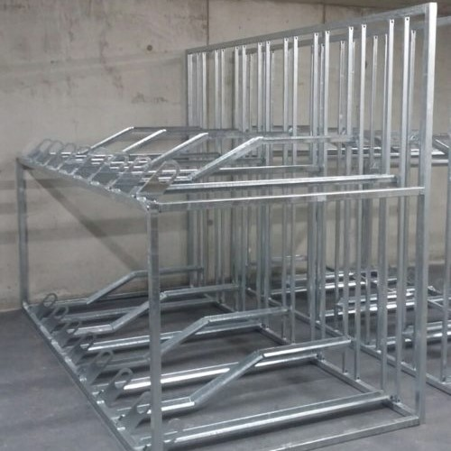 Static Double Decker Cycle Rack