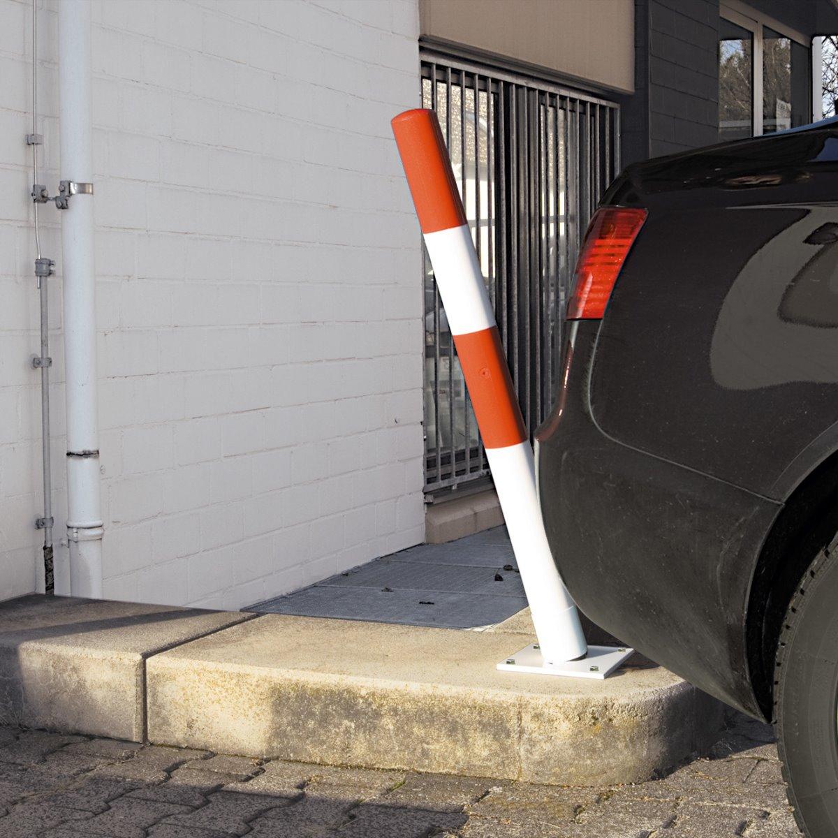 Traffic Line Self-Righting Post