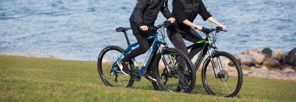 Get on your e-bike! Safe and Sustainable