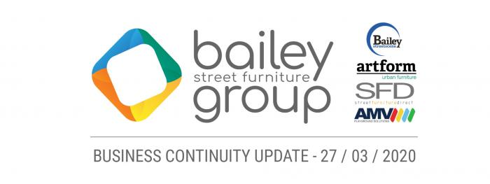 BUSINESS CONTINUITY UPDATE - 27/03/2020
