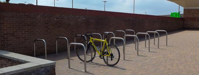 Good practice for cycle parking