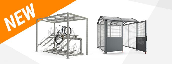 Enhanced Security and coverage for cycle parking from Street Furniture Direct
