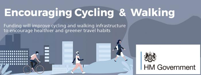 UK Government's £2 billion package for cycling & walking