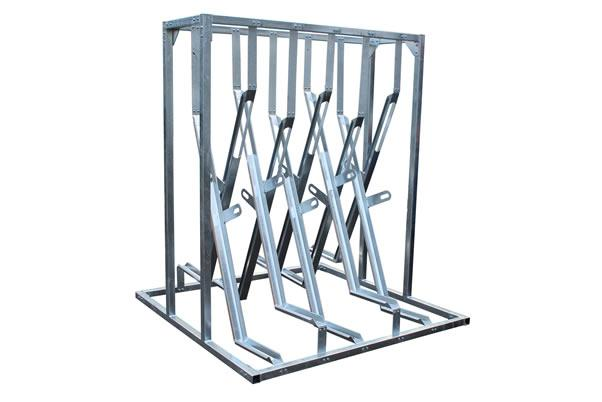 New product Alert The X-Type Semi Vertical Cycle Rack