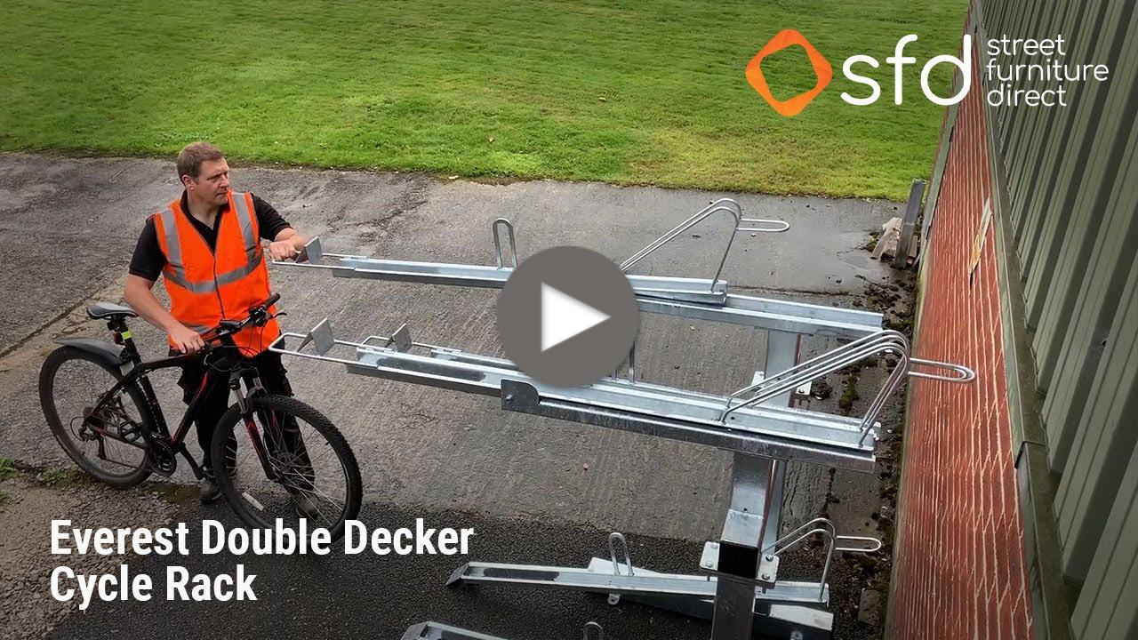 Everest Double Cycle Rack