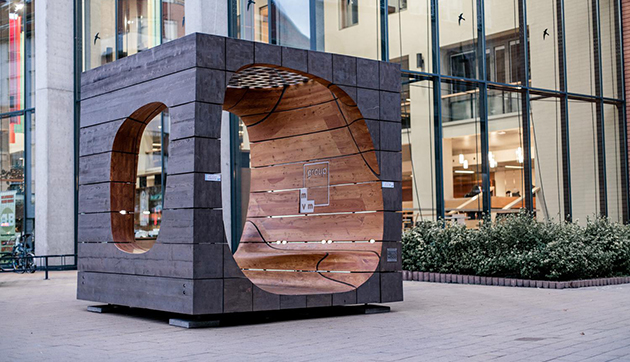 The Fluid Cube by Hello Wood
