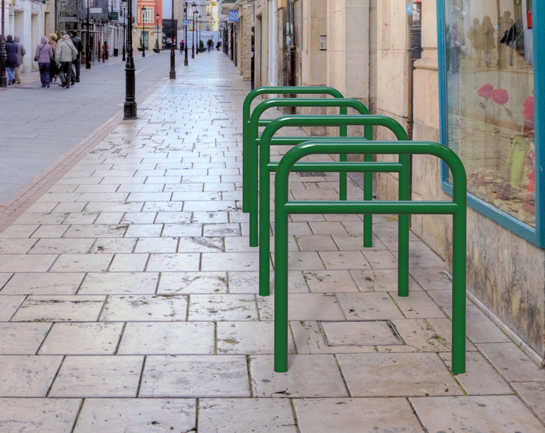 Sheffield High Mid-Rail Cycle Stand