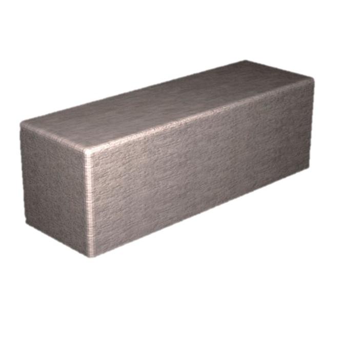 Beadnell Concrete Bench