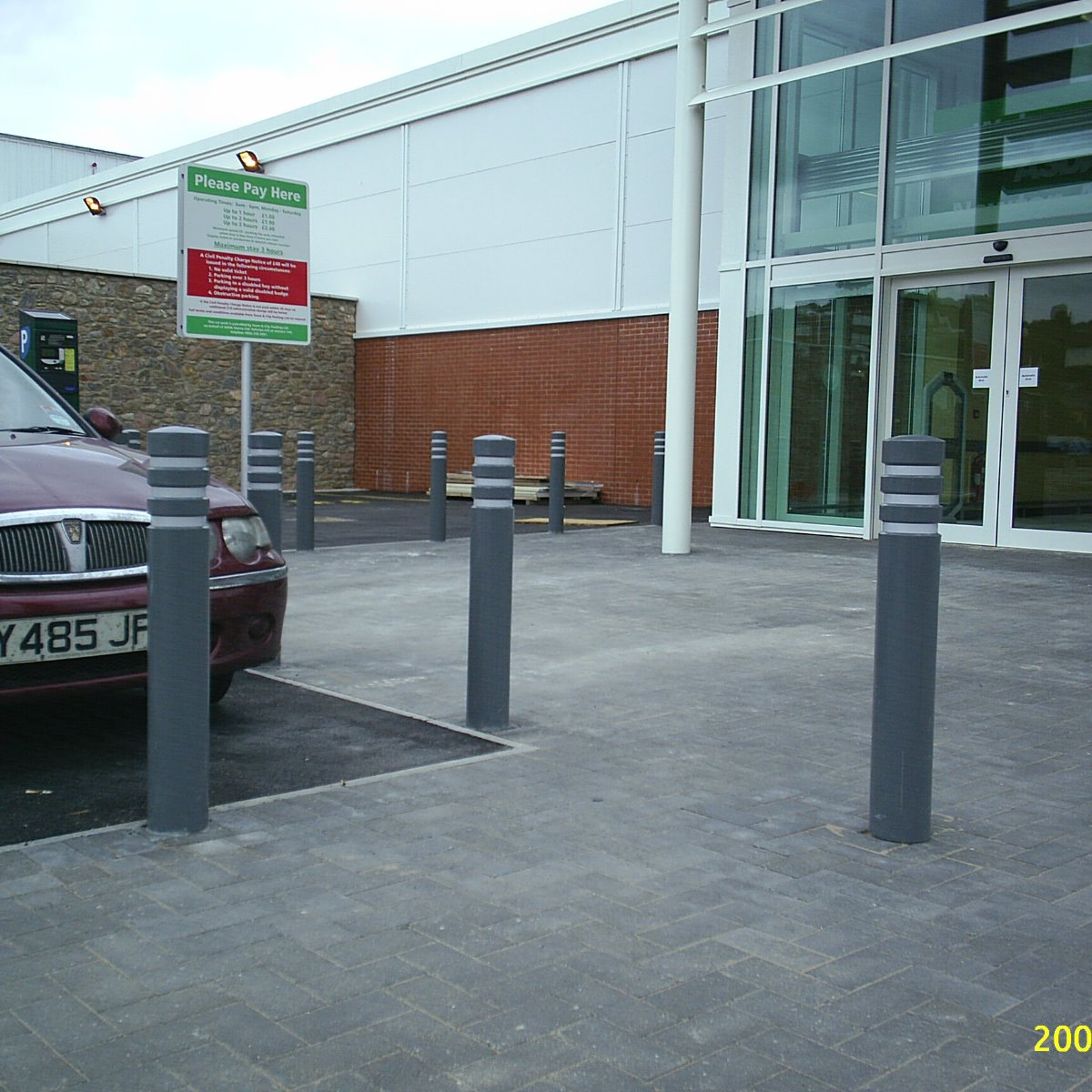 ASDA City PU Bollard