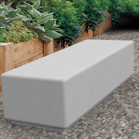 Bamburgh Concrete Bench