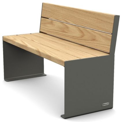 Primium® Design Seat - Timber & Steel