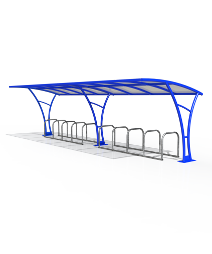 Remy Cycle Shelter 8mtr