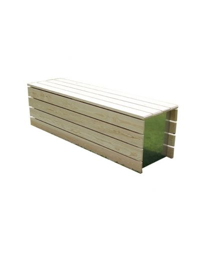 Modular Accoya Wood Bench
