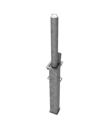 90mm  Steel Telescopic Bollard
