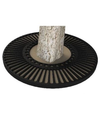Tree Grille 890 CR Cast Iron