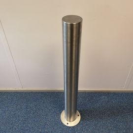 114mm Surface Mounted Stainless Steel Bollard