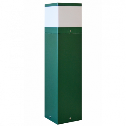 Cubic Illuminated Bollard