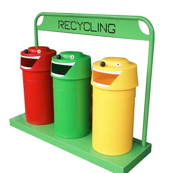 Recycle Bins Face Recycling Bin Street Furniture