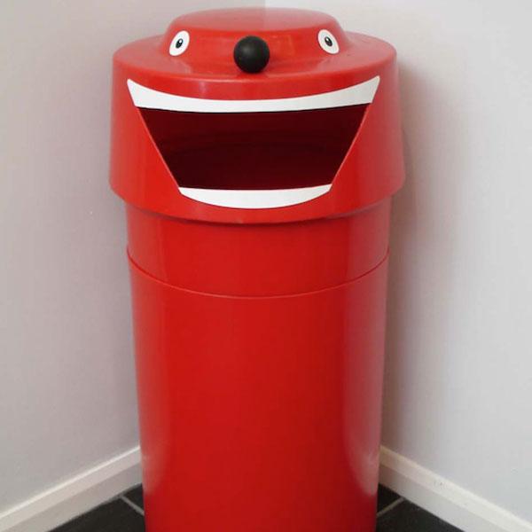 Face Recycling Bin