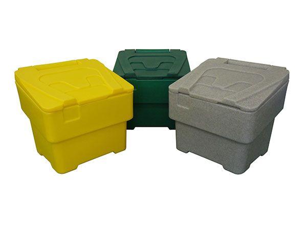 60 Litre Yellow Grit Bin